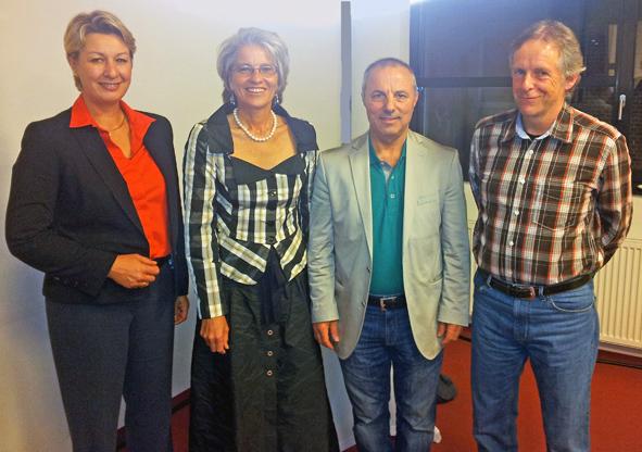 Regionaldirektorin Dr Nicola Schelling Zu Gast Auf Dem Roten Sofa